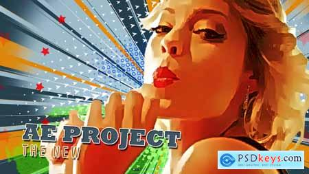 Videohive Freeze Frame Pop Art Retro Trailer Free