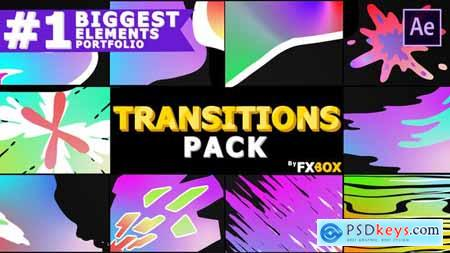 Videohive Gradient Transitions
