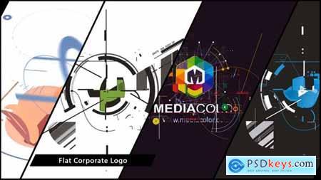 Videohive Flat Corporate Logo V03 Designer