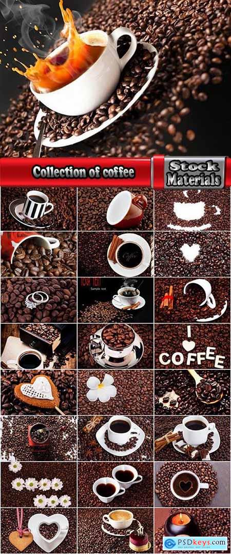Collection of coffee bean cup drink flavor background is 25 HQ Jpeg