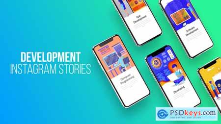 Videohive Web Development - Instagram Stories