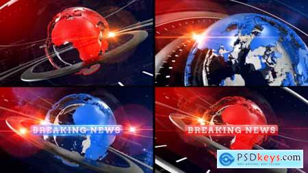 Videohive Breaking News Opener