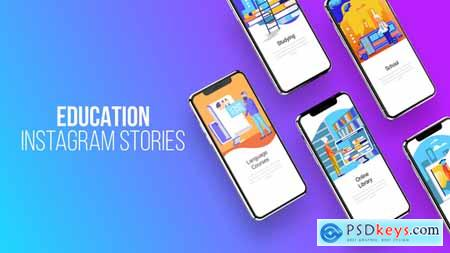 Videohive Education - Instagram Stories