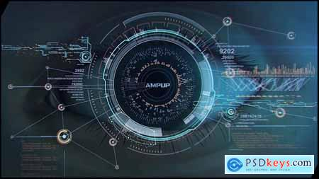 Videohive High Tech Logo V04 Eye Free