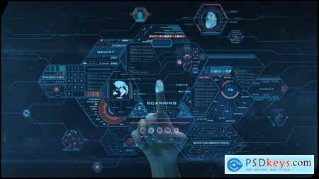 Videohive High Tech Logo V03 Fingerprint Free