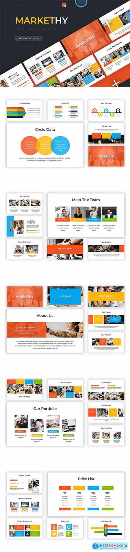 Markethy - Powerpoint Template