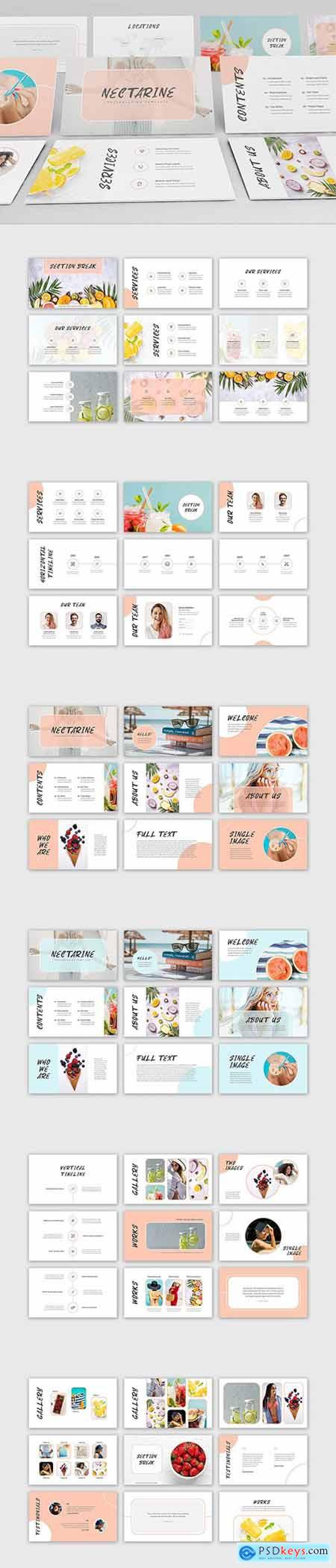 Nectarine PowerPoint Presentation Template