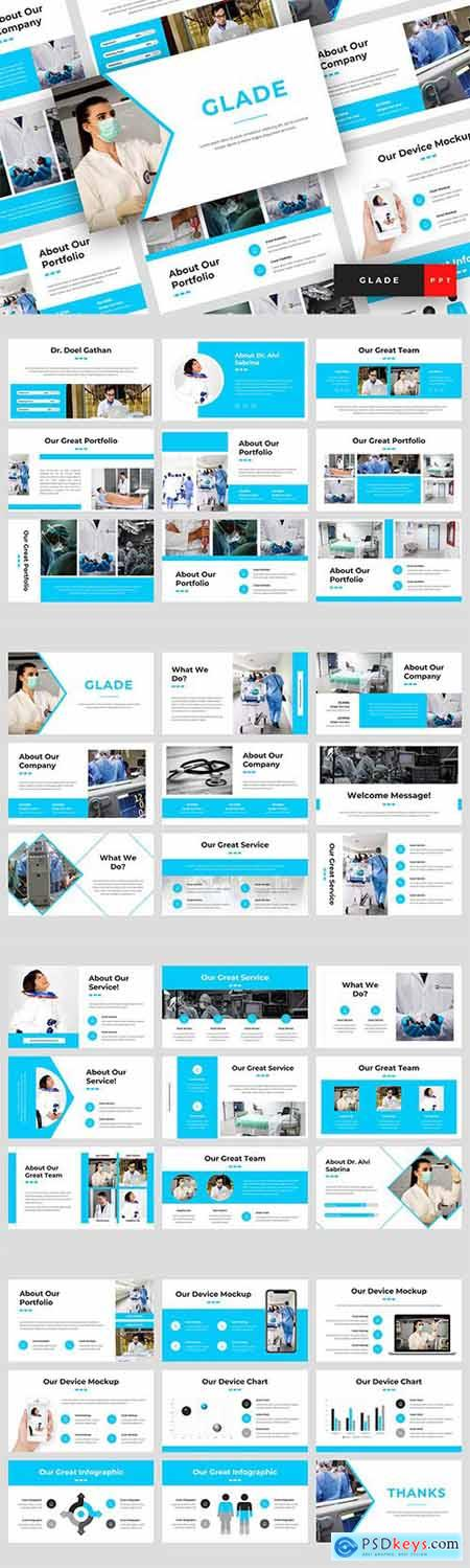 Glade - Medical Powerpoint Google Slides and Keynote Templates