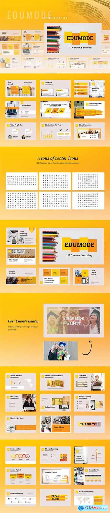 Edumode - Education Powerpoint Google Slides and Keynote Templates