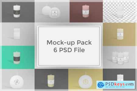 Candle Mockup Pack