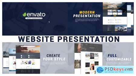 Videohive Minimal Website Presentation Free