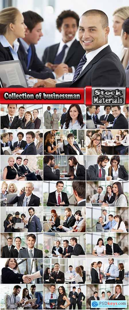 Collection of businessman business team strategy planning conference 25 HQ Jpeg