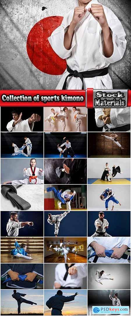 Collection of sports kimono karate judo fight 25 HQ Jpeg
