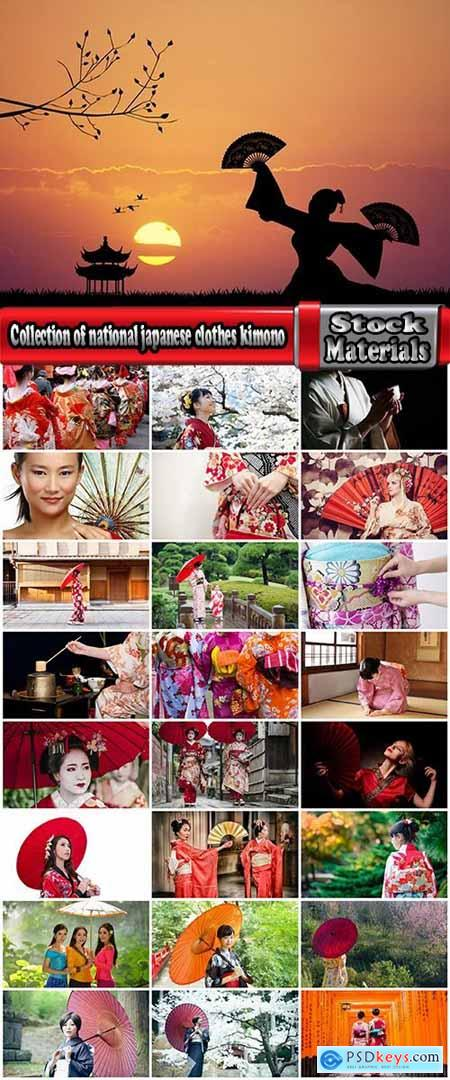Collection of national japanese clothes kimono geisha 25 HQ Jpeg