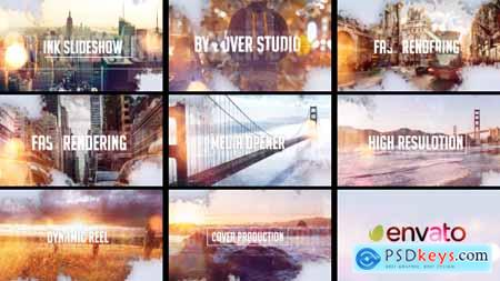 Videohive Ink Slideshow Free