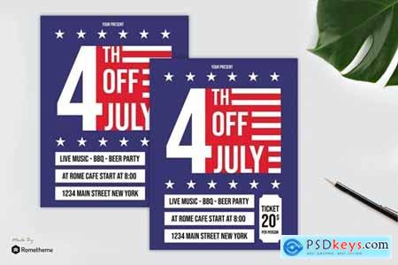 4th Of July Flyer vol. 01