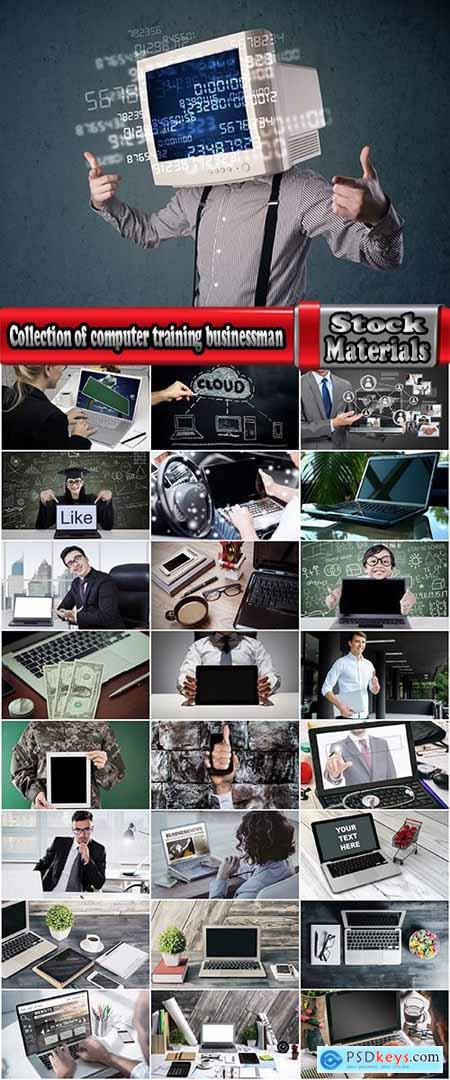 Collection of computer training businessman communication technology 25 HQ Jpeg