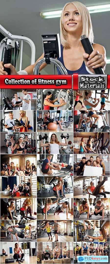 Collection of fitness gym beautiful body muscle girl female male sportsman 2-25 HQ Jpeg