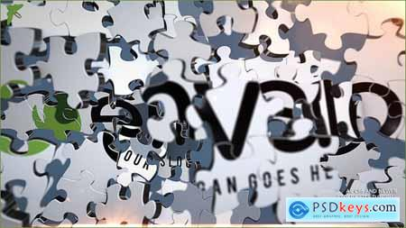 Videohive Puzzle Logo Free