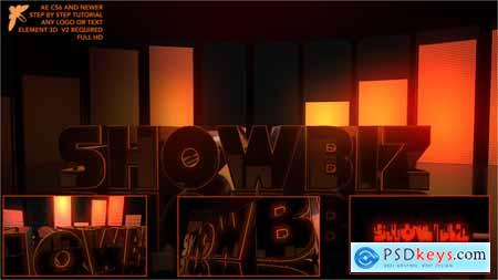 Videohive Showbiz Element Logo