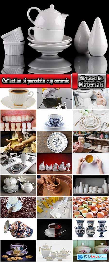 Collection of porcelain cup ceramic vase tile bathroom vanity 25 HQ Jpeg