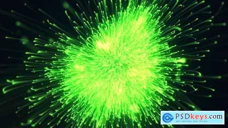 Videohive Particle Burst Logo Free