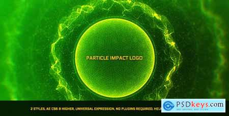 Videohive Particle Impact Logo Free