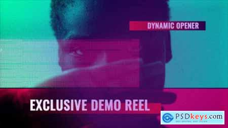 Videohive Glitch Demo Reel Free