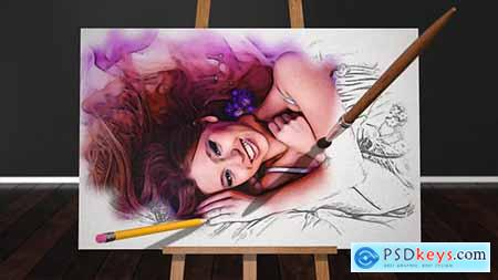 Videohive Sketch and Paint Free