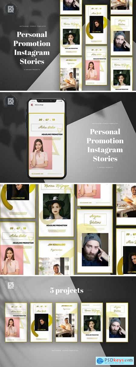 Personal CV Promotion Instagram Stories