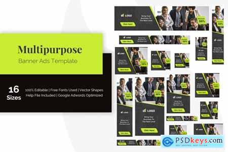 Multipurpose Banner Ads Template