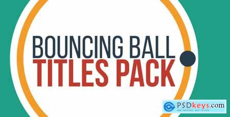 Videohive Bouncing Ball Titles
