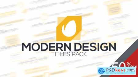 Videohive Modern Titles