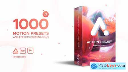 Videohive Action Library Motion Presets Package