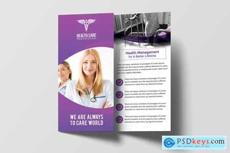 Modern Medical Trifold Brochure