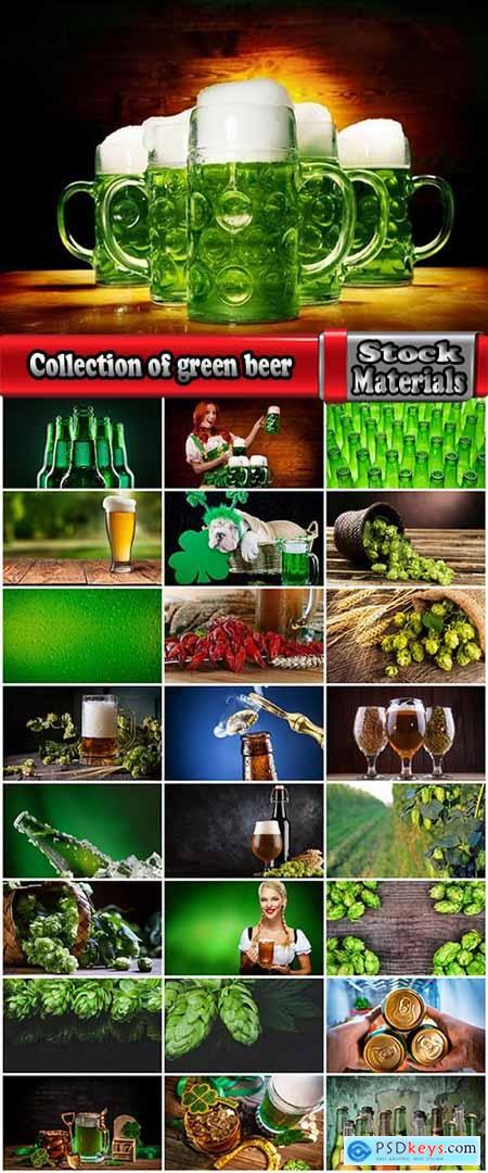 Collection of green beer hops appetizer holiday St. Patrick's Day 25 HQ Jpeg