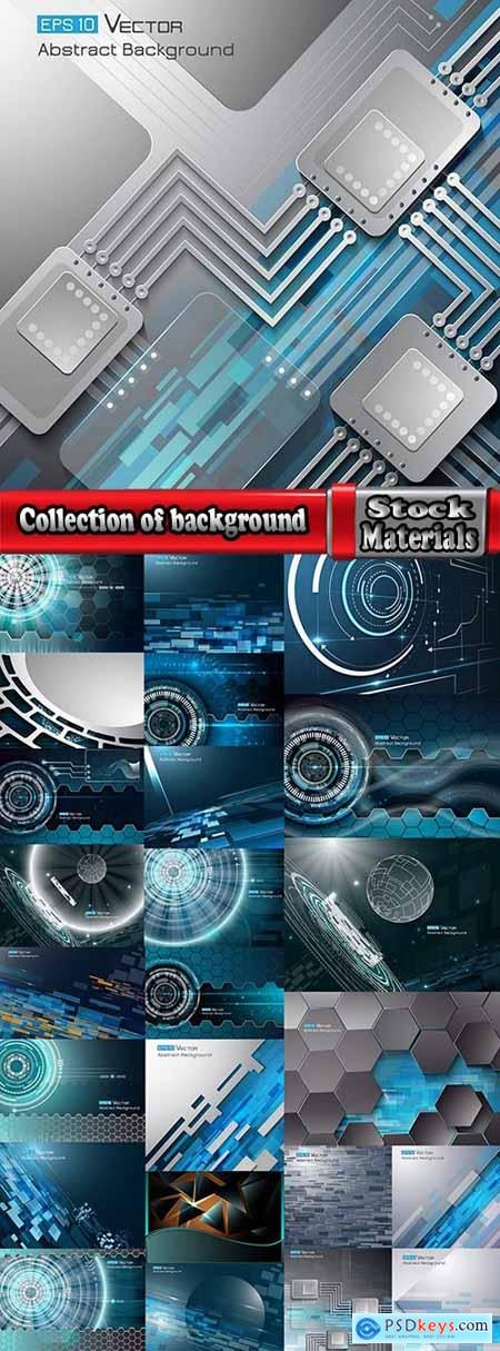 Collection of background is design website template sample wallpaper 25 EPS
