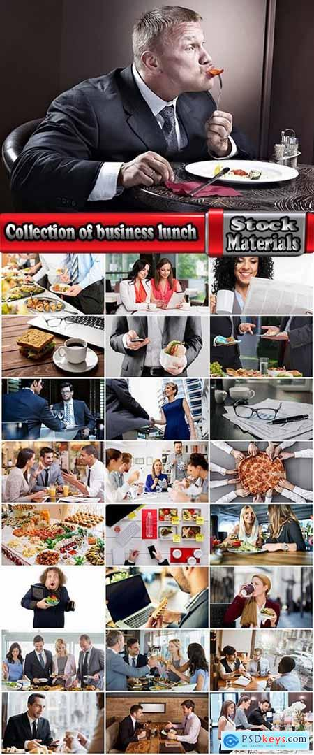 Collection of business lunch meeting businessman business negotiations 25 HQ Jpeg