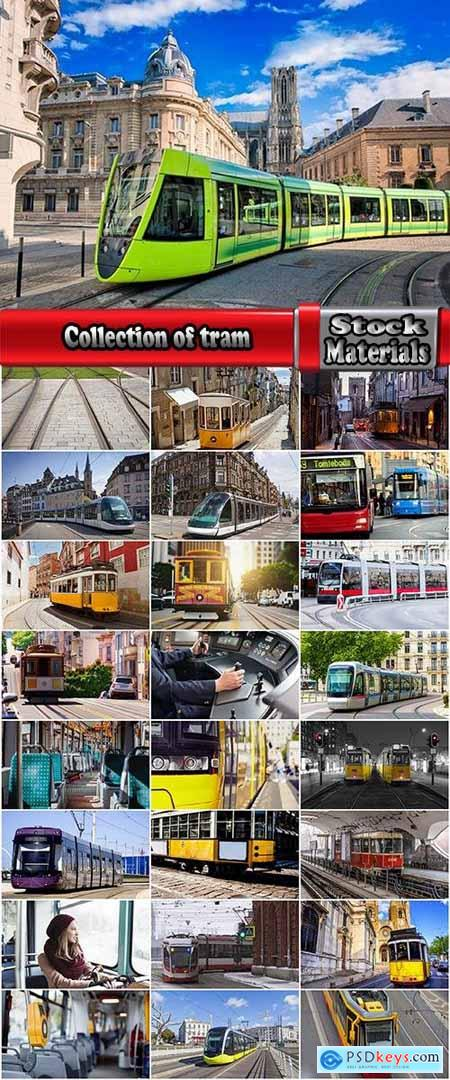 Collection of tram rail urban transport 25 HQ Jpeg