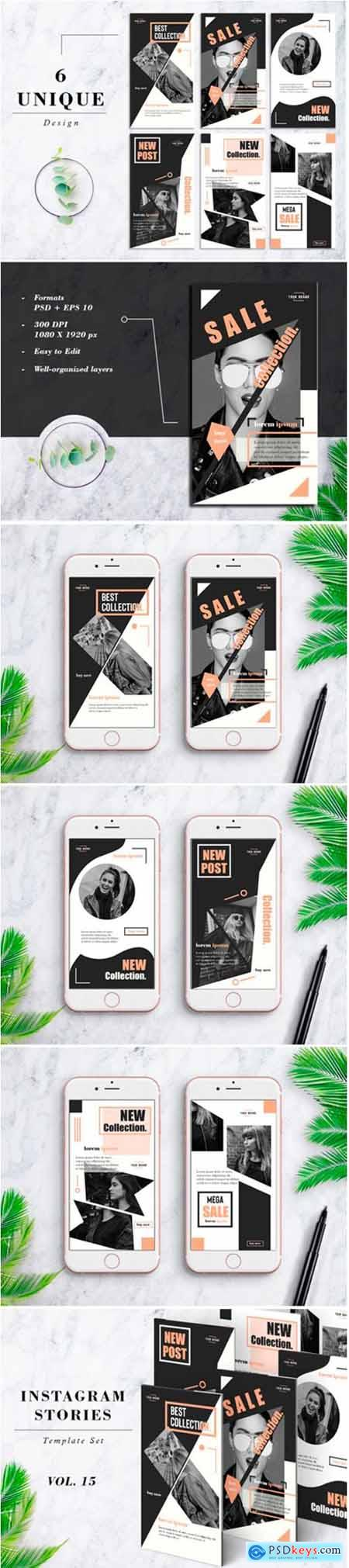 Instagram Stories Template Pack Vol.15 1268800