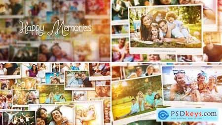 Videohive Happy Memories Slideshow Free