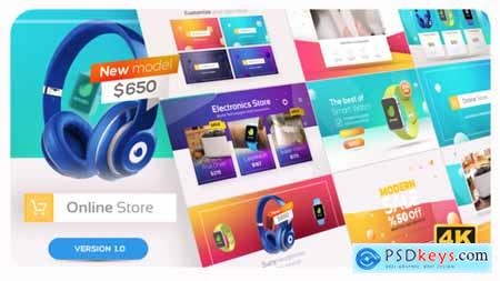 Videohive Online Market Universal Product Promo 22784676 Free Download After Effects Projects