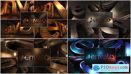 Videohive LED Gold Title Free