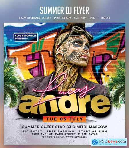Summer Dj Flyer