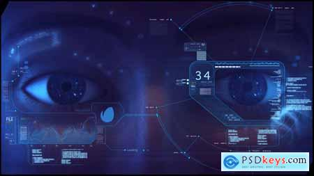 Videohive High Tech Logo V02 Eye Opener Free