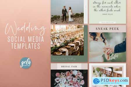 Wedding Social Media Templates