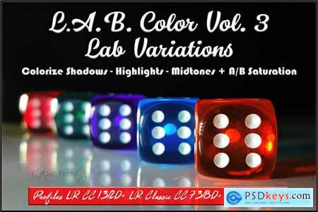 LAB Color Vol. 3 - Lab Variations
