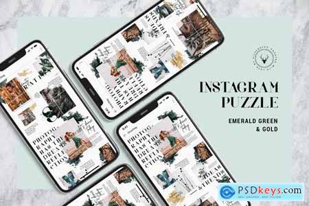 InstaGrid 8 - Insta Magazine Puzzle