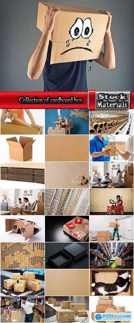 Collection of cardboard box delivery business gift buying 25 HQ Jpeg