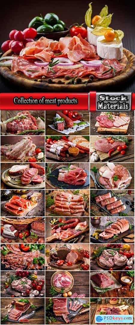 Collection of meat products sausages bacon fat banger 25 HQ Jpeg